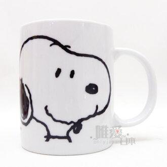 【真愛日本】13092000025 馬克杯300ML-SN與朋友 史努比 SNOOPY 咖啡杯 陶瓷杯