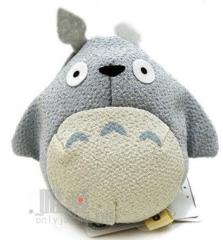 <宮崎駿會館>A0102700001 龍貓 TOTORO 豆豆龍 和風沙包娃-灰龍貓 娃娃 玩具 擺飾 日本帶回