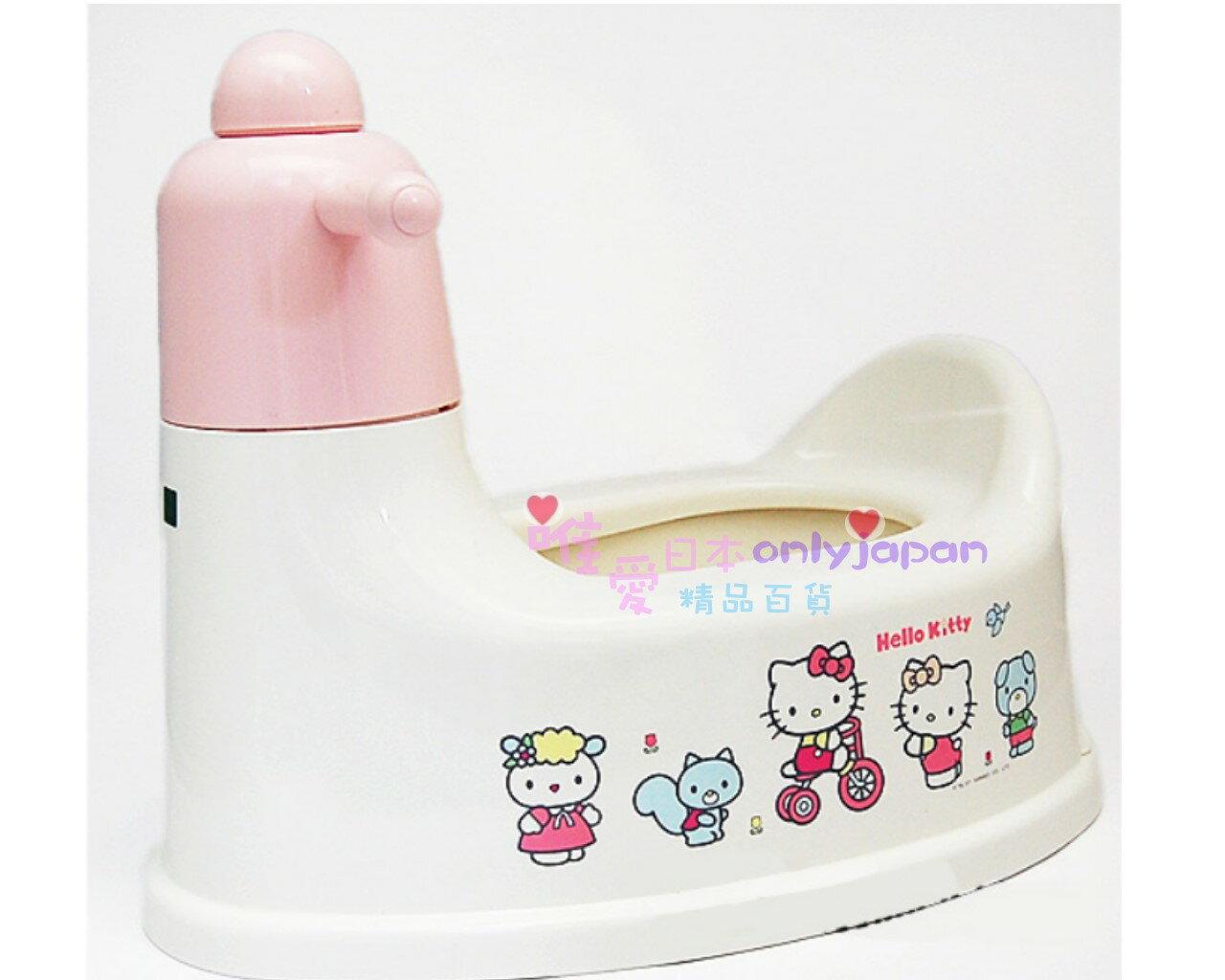 【真愛日本】7070600013 幼兒騎座式便器 三麗鷗Hello kitty家族凱蒂貓 幼兒騎座式便器 便盆