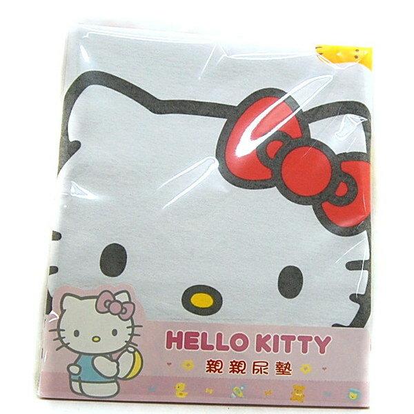 【真愛日本】7070600018  寶貝版親親綿質尿墊  三麗鷗Hello Kitty家族 凱蒂貓  台灣授權
