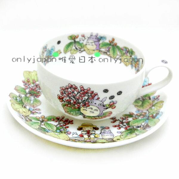 <真愛日本>8051700008紀念咖啡杯皿-季節編-9-10月龍貓TOTORO日本Noritake
