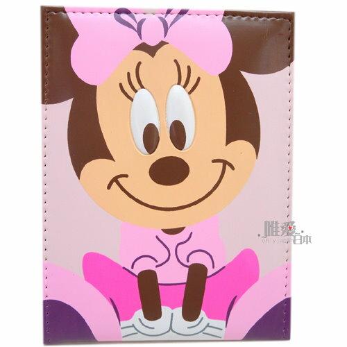 ~*唯愛日本*~B 11110200002 三折鏡S-MN坐姿 迪士尼 米奇 米妮隨身鏡 化妝鏡 正版授權