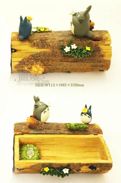 【真愛日本】12121000006 龍貓小物收納盒-樹幹 龍貓 TOTORO 豆豆龍 置物盒 收藏擺飾 正品