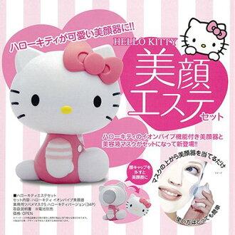 【唯愛日本】13072900024 造型面膜導入美顏器 三麗鷗 Hello Kitty 凱蒂貓 面膜 美顏機 導入機