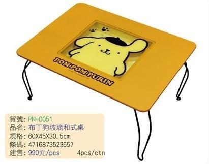 【真愛日本】 14091000014 玻璃和式桌PN 三麗鷗家族 布丁狗 桌子