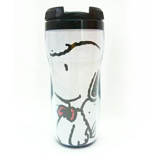 【唯愛日本】14091300044 可替換式曲線杯-點點小黃鳥 史奴比 史努比 SNOOPY 杯子