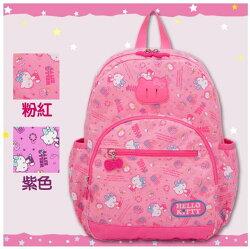 【唯愛日本】14100400010 後背包L-休閒潮流粉 三麗鷗 Hello Kitty 凱蒂貓 包包 上學 出門
