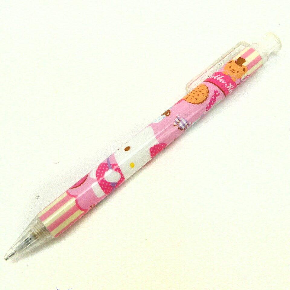 【唯愛日本】14100800014 自動鉛筆-甜點蛋糕粉 三麗鷗 Hello Kitty 凱蒂貓 自動筆 文具