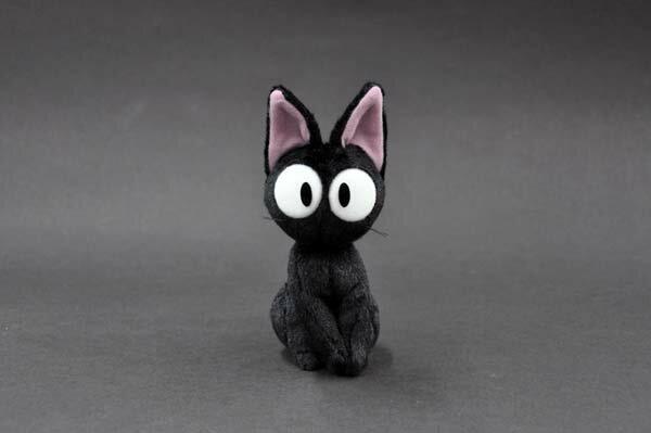 【真愛日本】14100800022黑貓坐姿娃-JIJI兒子魔女宅急便黑貓奇奇貓玩偶娃娃治療系商品