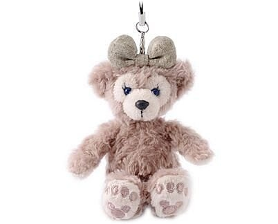 【真愛日本】 14101100018 樂園經典坐姿娃吊飾-雪莉玫  雪莉玫 Duffy 達菲熊&ShellieMay 娃娃
