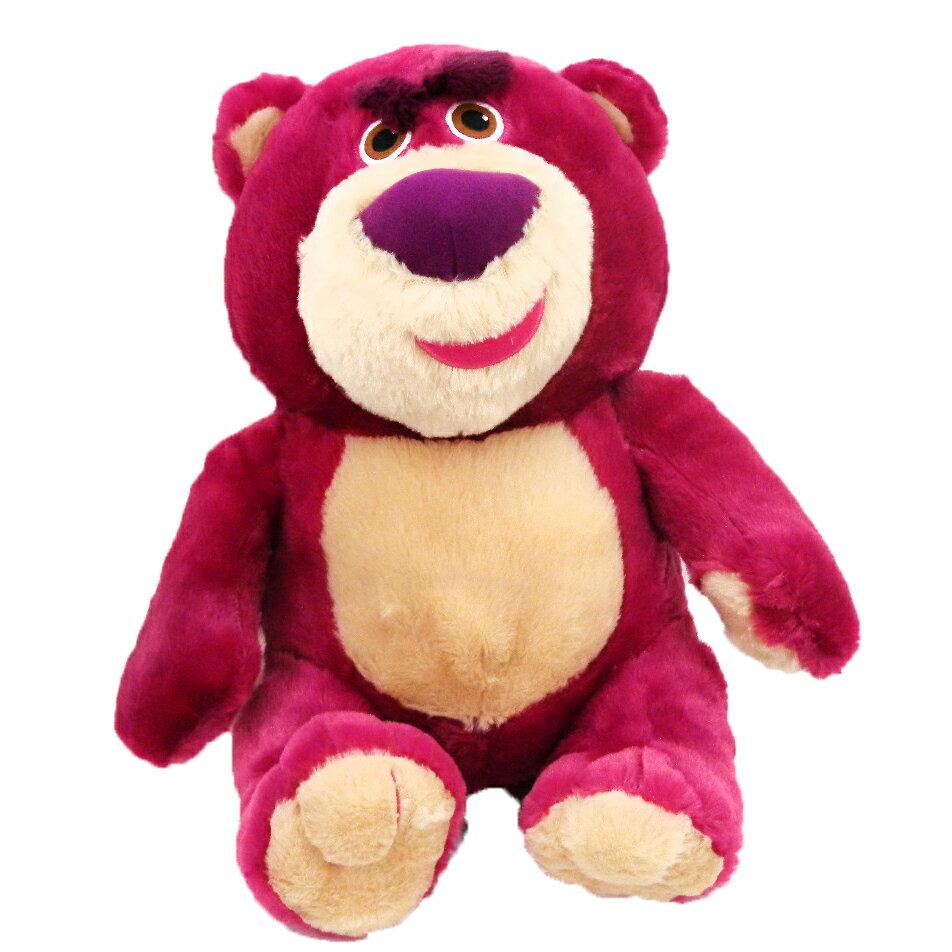 【唯愛日本】14102100007 坐姿絨毛娃36CM-熊抱哥 迪士尼 玩具總動員 TOY 娃娃 玩偶