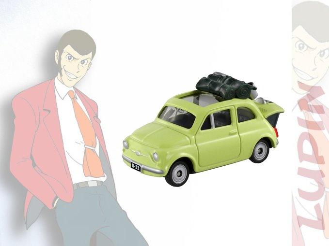 【唯愛日本】14111200018 TOMY車-魯邦三世 魯邦三世 ???三世 Lupin lll 多美小汽車