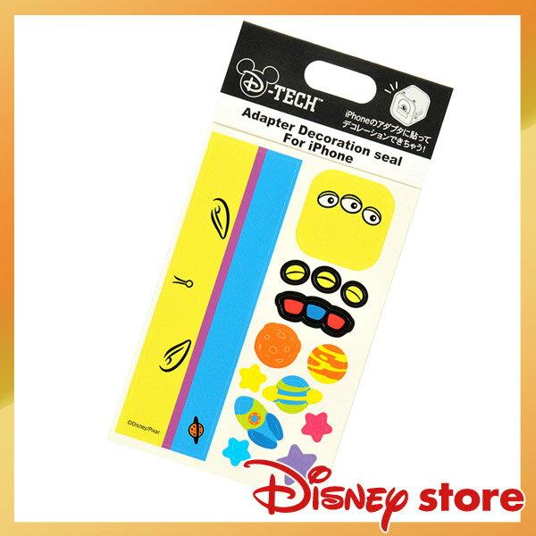 【唯愛日本】14122700007 充電器貼紙iPhone-三眼怪 迪士尼 玩具總動員 怪獸大學 3C周邊 3C飾品