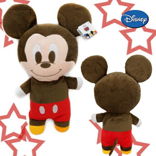 【唯愛日本】15010100019 2號全身長抱枕58CM米奇 米老鼠米奇 米妮 娃娃 玩偶 靠枕 正品