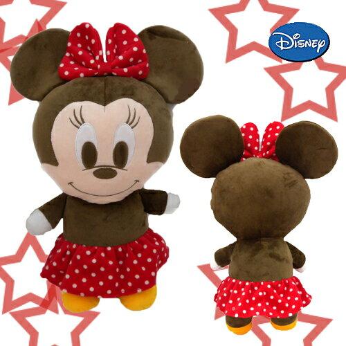 【唯愛日本】15010100021  3號全身長抱枕45CM米妮 米老鼠米奇 米妮 玩偶 娃娃 靠枕 正品