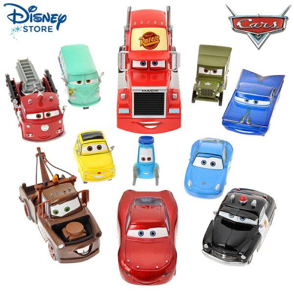 真愛日本:【唯愛日本】15011200003限定Cars人物車大集合11p迪士尼Cars汽車總動員玩具收藏正品預購