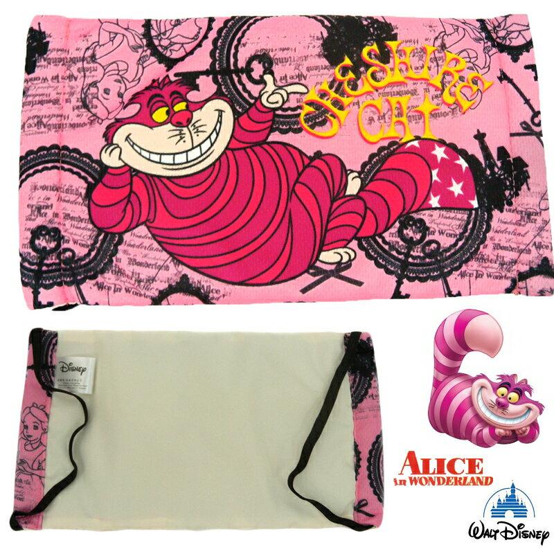 【唯愛日本】15011700010 舒適布質口罩-妙妙貓 迪士尼 愛麗絲夢遊仙境 正品