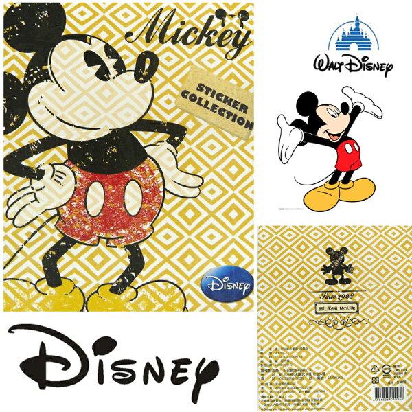 真愛日本:【唯愛日本】15011700012精裝收集冊-米奇迪士尼米老鼠米奇米妮卡片本正品