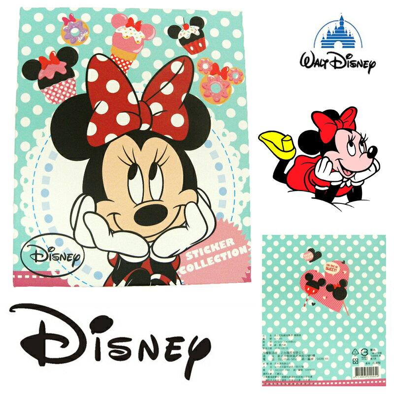 【唯愛日本】15011700013 精裝收集冊-米妮 迪士尼 米老鼠米奇 米妮 卡片本 正品
