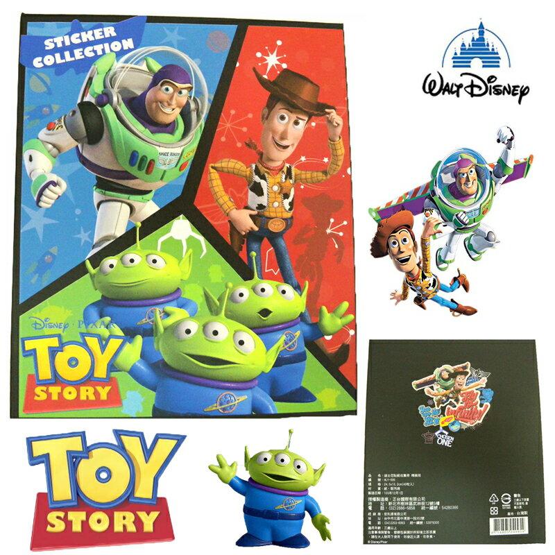 【唯愛日本】15011700018 精裝收集冊-玩具總動員 迪士尼 玩具總動員 TOY 卡片本 正品