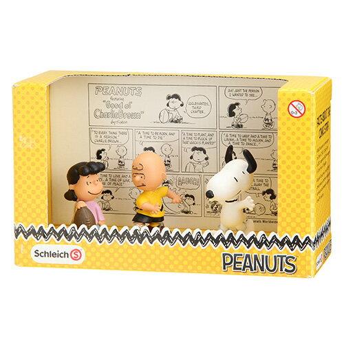 【唯愛日本】15011900001 人形擺飾-經典禮盒組 史奴比 史努比 SNOOPY 收藏 正品 限量