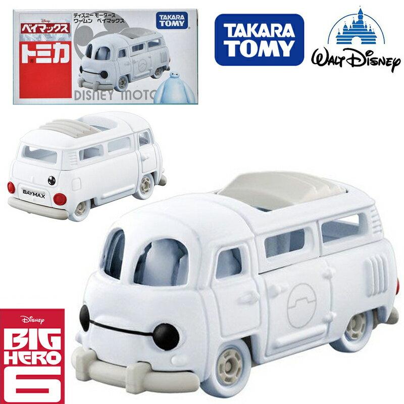 【唯愛日本】15012400003 TOMY-夢幻杯麵麵包車 迪士尼 大英雄天團 Big Hero 6 玩具車 小車 正品
