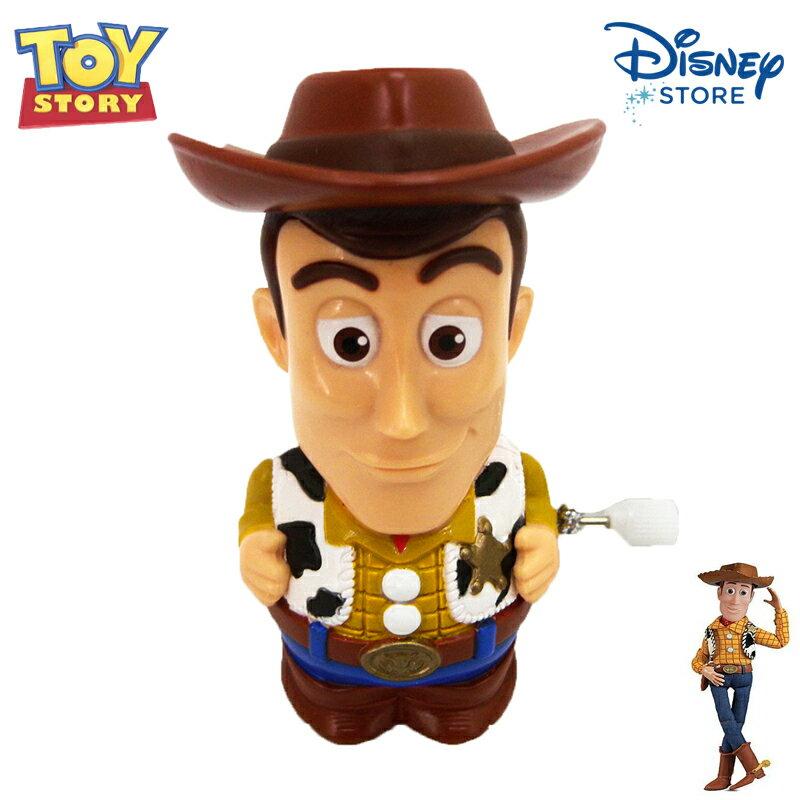 【唯愛日本】15020100033樂園限定發條走路公仔-胡迪 迪士尼 玩具總動員 TOY 玩具 可動 限量 正品 日本帶回
