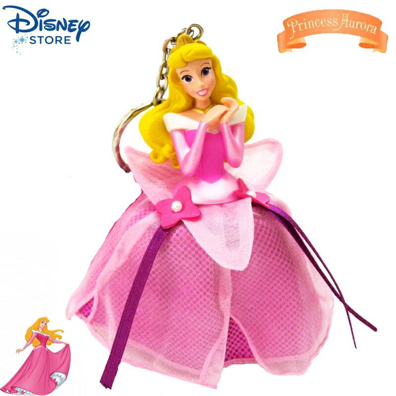【唯愛日本】15020100049 樂園限定公主鎖圈-睡美人 迪士尼 睡美人 Sleeping Beauty 吊飾 飾品 正品 限量 日本帶回