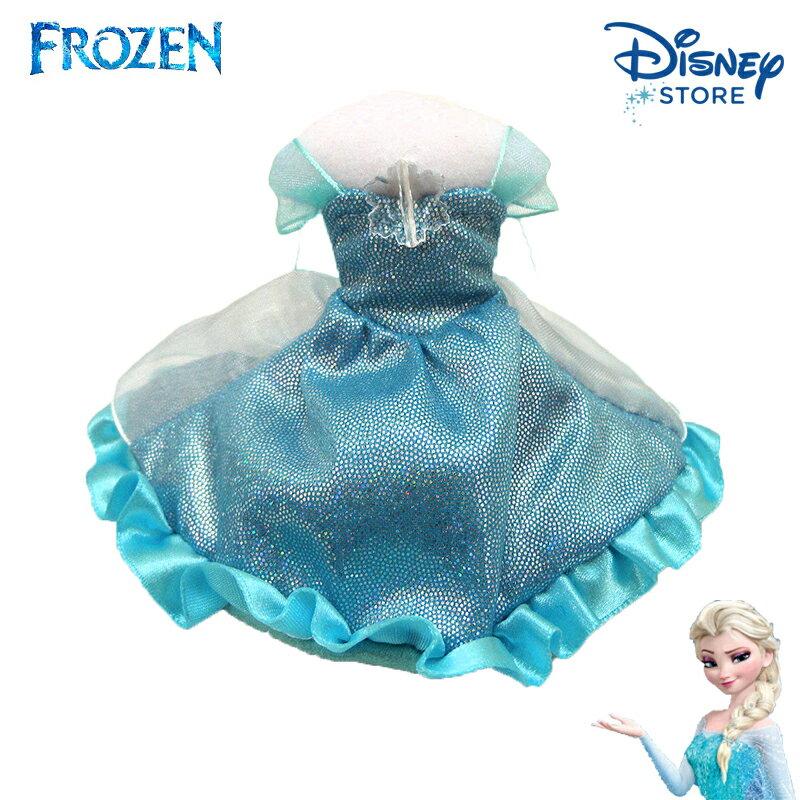 【唯愛日本】15020100053 樂園限定公主禮服-艾莎 迪士尼 冰雪奇緣 Frozen 吊飾 飾品 正品 限量 日本帶回