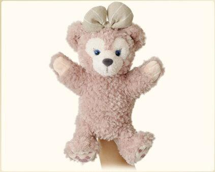【真愛日本】15020500033經典絨毛手偶娃-雪莉玫 迪士尼專賣店限定 雪莉玫 達菲熊 娃娃 玩偶 正品 限量 預購