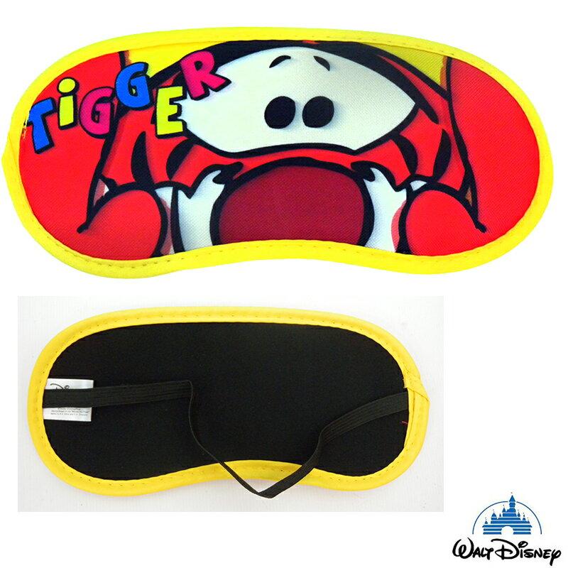【真愛日本】15021400016 眼罩-大臉跳跳虎 迪士尼 維尼家族 POOH 居家 正品 限量