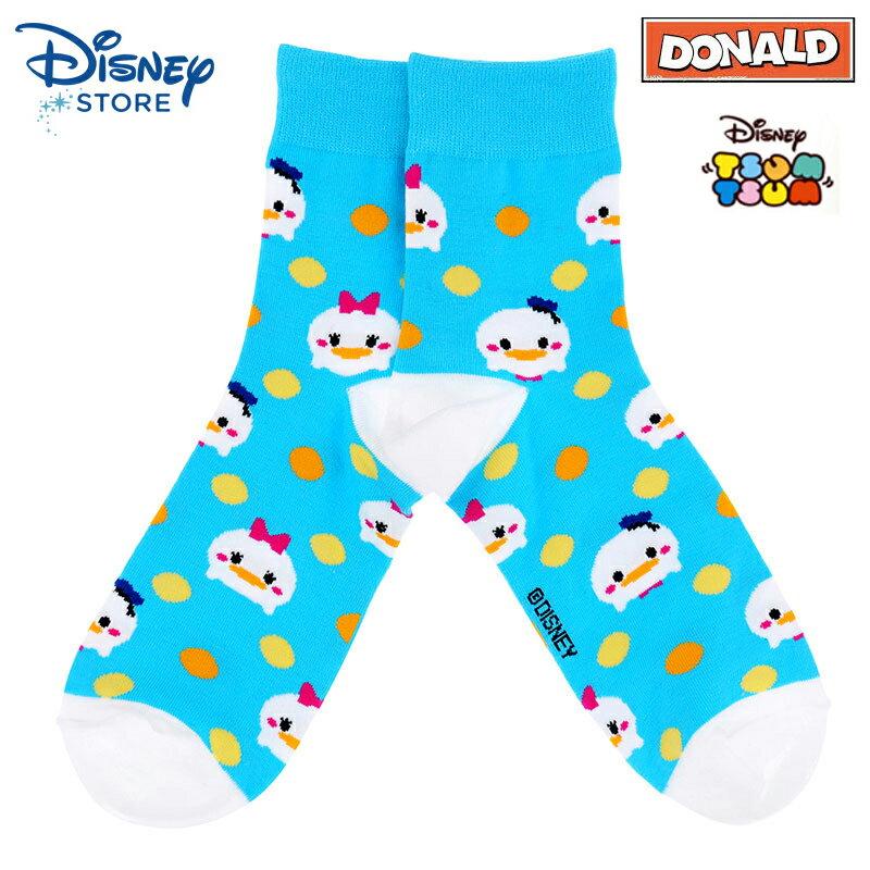 【唯愛日本】15022500051限定DN襪子-tsum唐老鴨黛西 迪士尼 Donald Duck 唐老鴨 居家 正品 限量