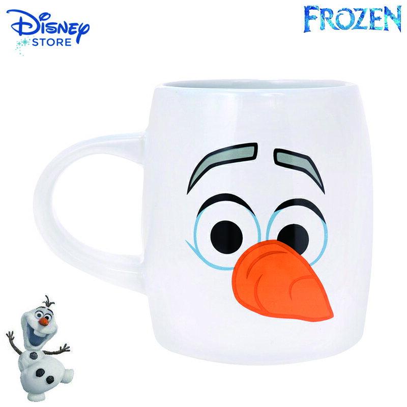 【真愛日本】15022600014限定馬克杯-FunnyFace雪寶 迪士尼 冰雪奇緣 Frozen 杯子 正品 限量 預購