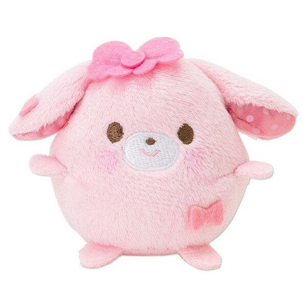 【真愛日本】15031300034 茲姆茲姆娃S-BO兔立姿 三麗鷗家 Bonbonribbon 蹦蹦兔 娃娃 玩偶 手機擦 正品 限量