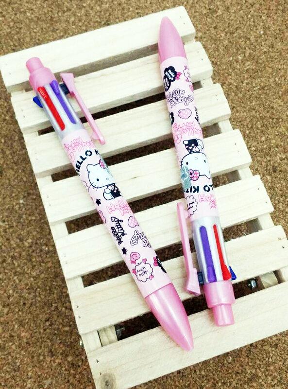 【真愛日本】15031400026 6色筆2入-老鼠紅 三麗鷗 Hello Kitty 凱蒂貓 文具 書寫 原子筆 正品 限量