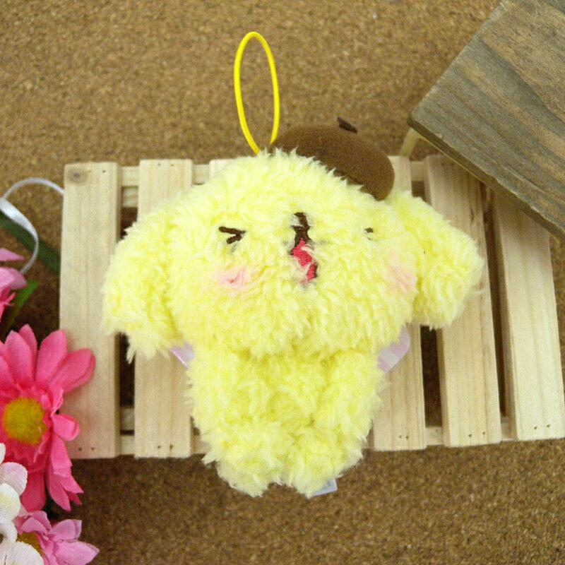 【真愛日本】 15031800017 綿柔娃吊飾-LINE PN 三麗鷗家族 布丁狗 娃娃 玩偶 吊飾 正品 景品 限量