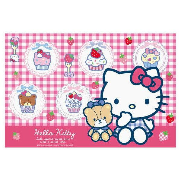 【真愛日本】15032800023 野餐墊90*60cm-草莓點心 三麗鷗 Hello Kitty 凱蒂貓 正品 限量