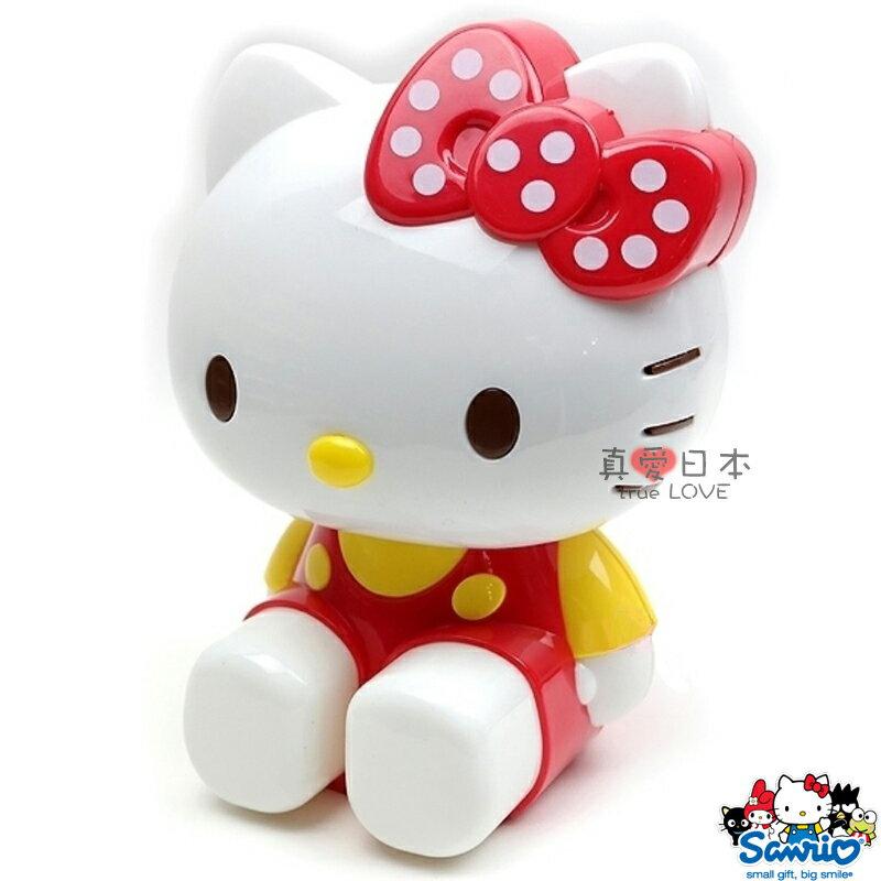 【真愛日本】15040100001 削鉛筆機-立體偶坐姿紅 三麗鷗 Hello Kitty 凱蒂貓 文具 正品 限量