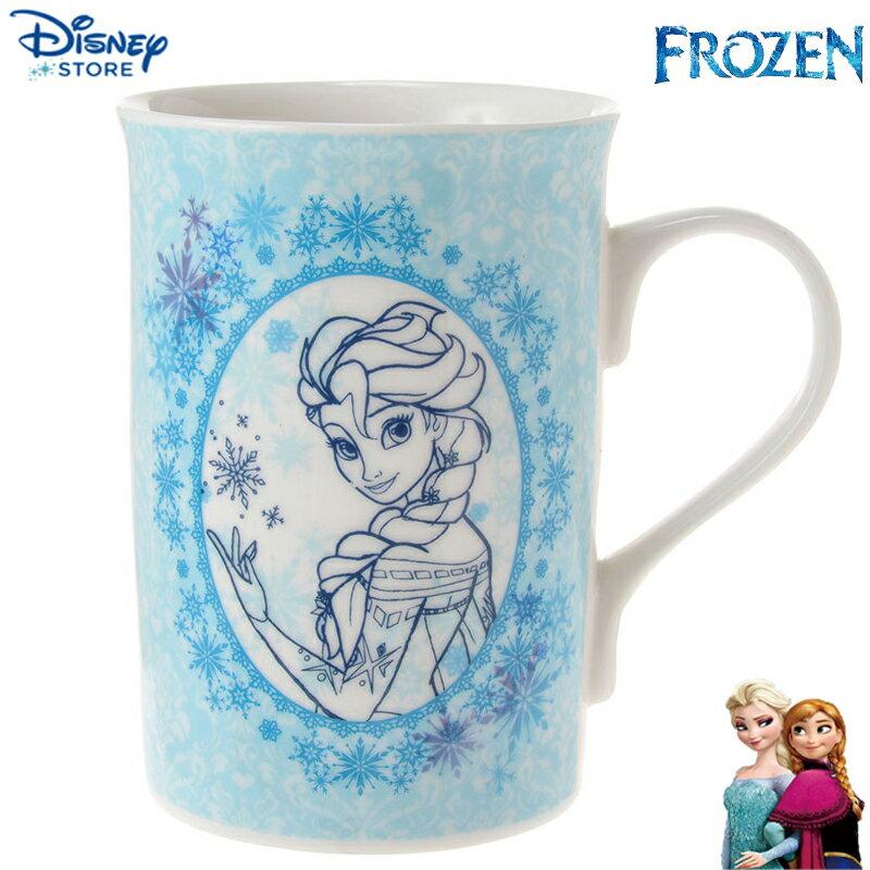 【真愛日本】15040200066 限定DN馬克杯-Elsa 迪士尼 冰雪奇緣 Frozen 杯子 水杯 正品 限量