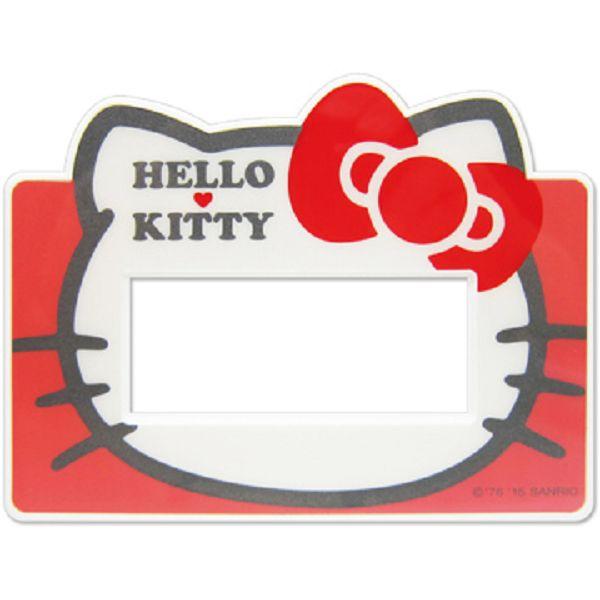 ~真愛 ~15040300013 開關蓋板~3孔頭型紅 三麗鷗 Hello Kitty 凱