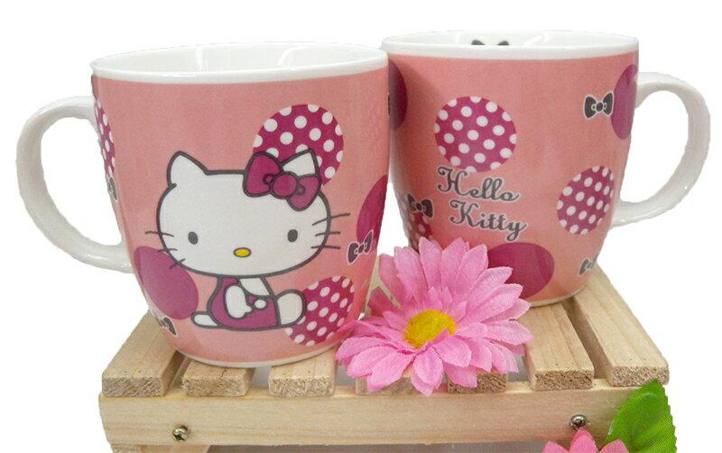 ~真愛 ~15040300019 馬克杯~復古紅圓點 三麗鷗 Hello Kitty 凱蒂