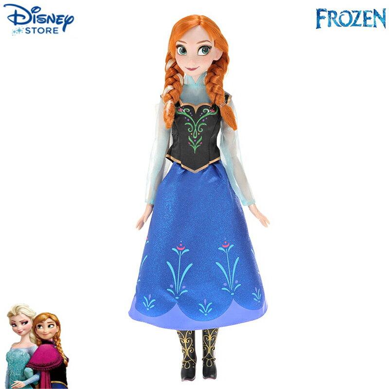 【真愛日本】15041300001 限定歌唱公主-Anna安妮 迪士尼 冰雪奇緣 Frozen 娃娃 玩具 公仔 正品 限量 預購
