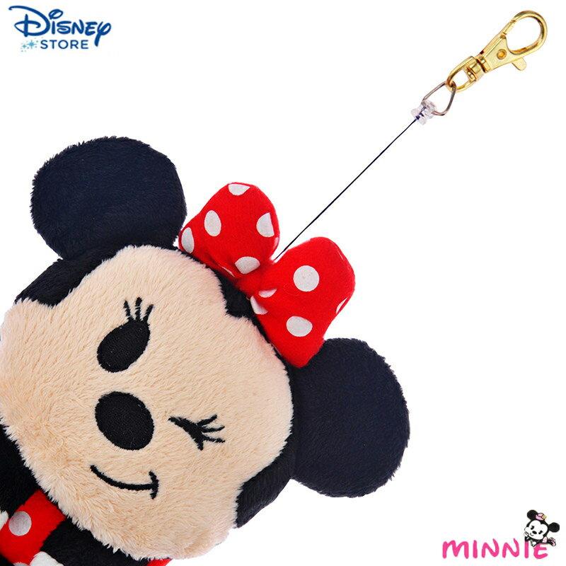 <br/><br/>  【真愛日本】15041300010 限定DN3C萬用袋-Q版米妮 迪士尼 米老鼠米奇 米妮 收納袋 手機袋 正品 限量 預購<br/><br/>