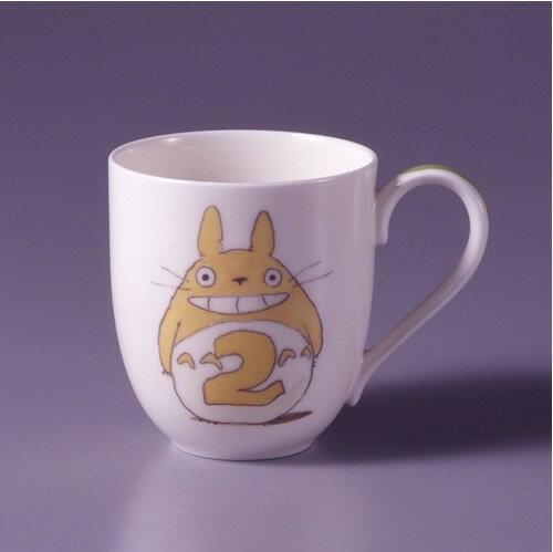 【真愛日本】15041500042龍貓限定月份杯-2月 預購龍貓 TOTORO  杯子 水杯 馬克杯 正品 限量 預購