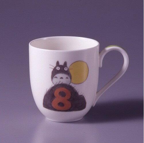 【真愛日本】15041500048龍貓限定月份杯-8月預購 龍貓 TOTORO  杯子 水杯 馬克杯 正品 限量