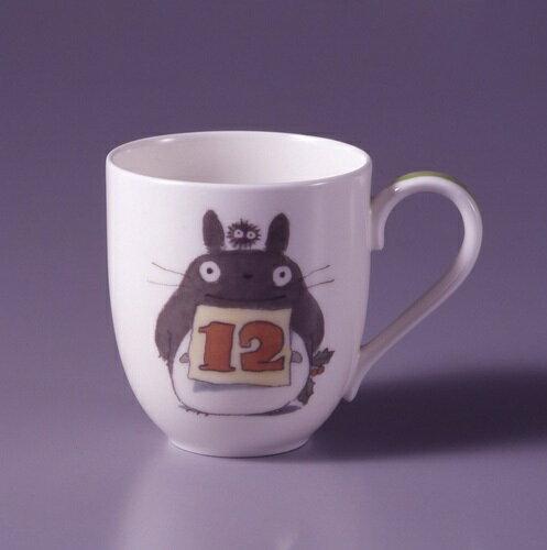 【真愛日本】15041500052龍貓限定月份杯-12月 預購龍貓 TOTORO 杯子 馬克杯 茶杯 正品 限量 預購
