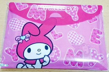 【真愛日本】15041600011 橫式方便便條包S-MM字母 三麗鷗家族 Melody 美樂蒂 文具 便利紙 正品