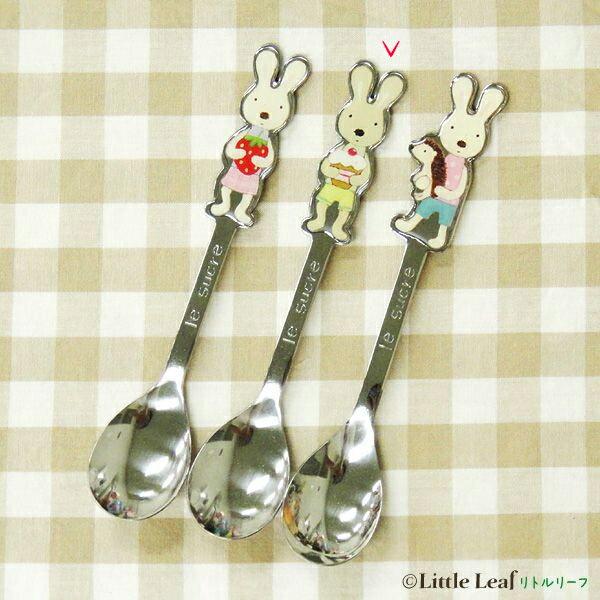 ~le sucre la creme法國兔~15041800052 小湯匙15cm~茶兔蛋