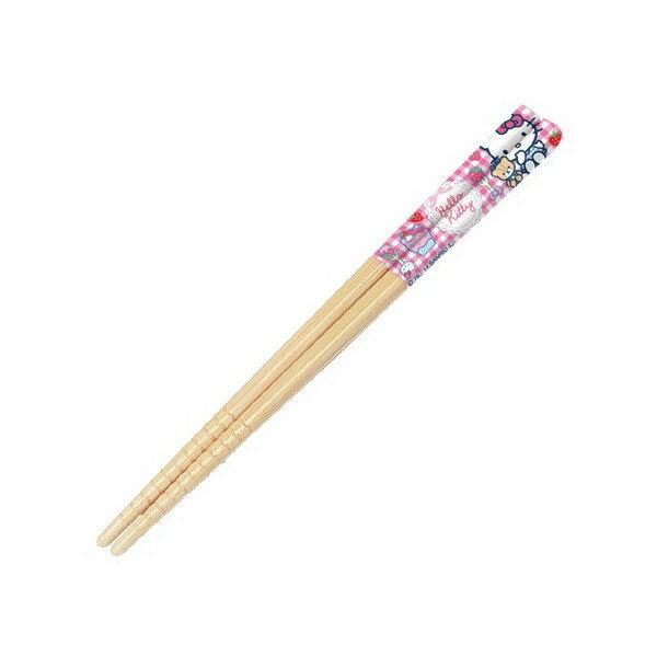 【真愛日本】15042800057 竹筷-16.5cm蛋糕粉 三麗鷗 Hello Kitty 凱蒂貓 筷子 餐具 正品 限量 預購