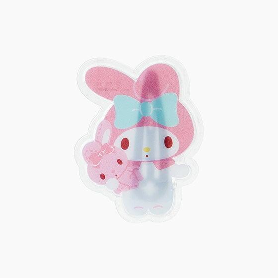【真愛日本】15042900040 枇杷髮夾-抱兔子粉 三麗鷗家族 Melody 美樂蒂 髮飾 飾品 正品 限量